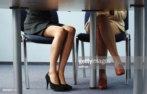 naked businesswomen