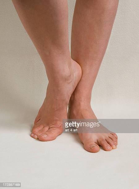 Des jambes