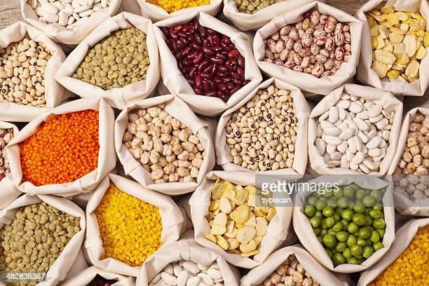 Colección Leguminous semillas