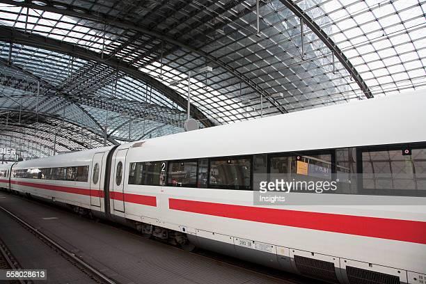 Lehrter Bahnhof Main Railway Station Berlin Germany