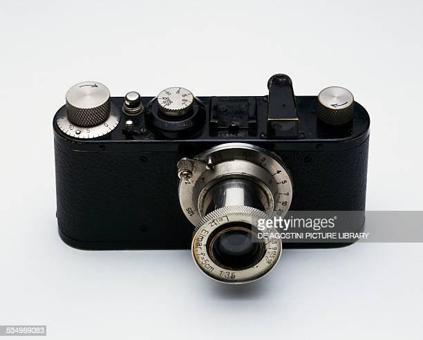 Leica 1 Model A camera ca 1932 Ernst Leitz Elmar lens f / 35 50 mm Germany 20th century