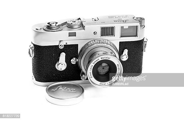 Leica classic vintage M2 film camera 1962 lens extended