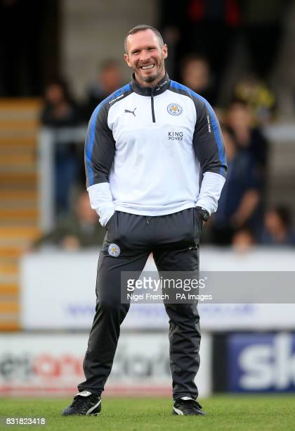 Leicester City assistant manager Michael Appleton