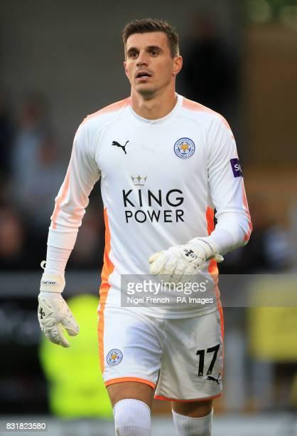 Leicester City goalkeeper Eldin Jakupovic