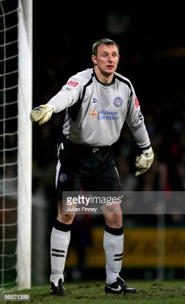Leicester City goalkeeper Robert Douglas looks on during the CocaCola Championship match between Crystal Palace and Leicester City at Selhurst Park...