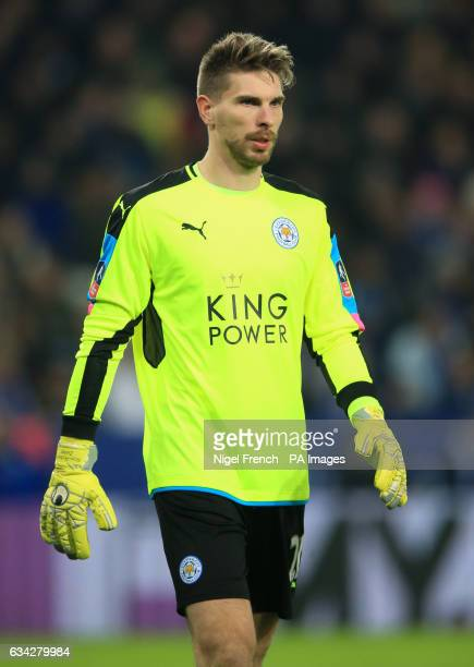 Leicester City goalkeeper RonRobert Zieler during the Emirates FA Cup Fourth Round Replay match at the King Power Stadium Leicester