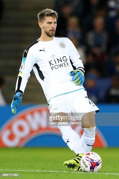 Leicester City goalkeeper RonRobert Zieler