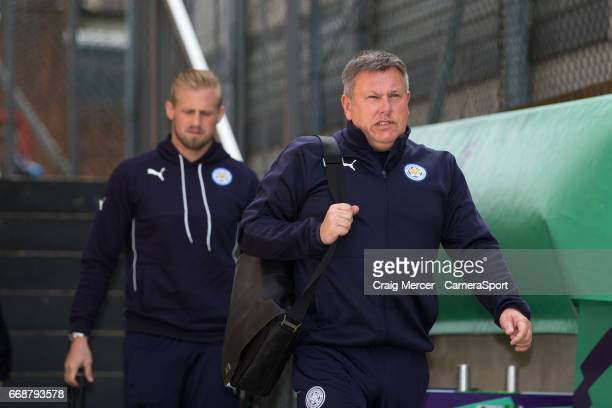 Leicester City manager Craig Shakespeare arrives at Selhurst Park home of Crystal Palace during the Premier League match between Crystal Palace and...
