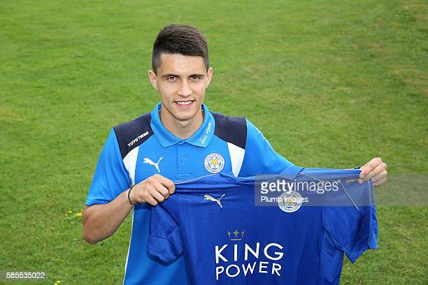 Leicester City unveil new signing Bartosz Kapustka as he flies straight out to Stockholm for the ICC tournament game against Barcelona at East...