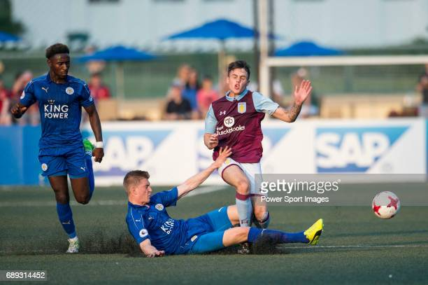 Leicester City vs Aston Villa during their Main Tournament Cup Final match part of the HKFC Citi Soccer Sevens 2017 on 28 May 2017 at the Hong Kong...