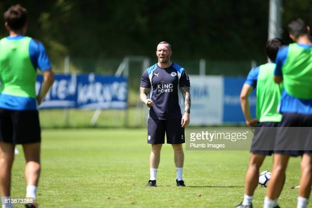 Leicester City's assistant manager Michael Appleton during the Leicester City PreSeason tour of Austria at Velden Training Facility on July 13th 2017...