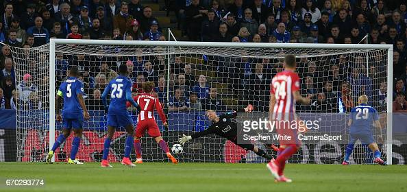 Leicester City v Club Atletico de Madrid - UEFA Champions League Quarter Final: Second Leg : News Photo
