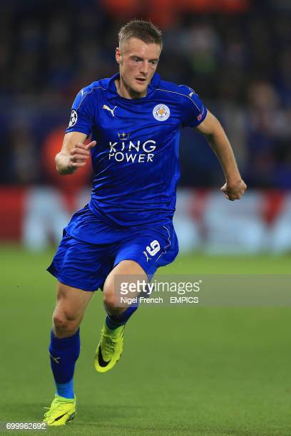 Leicester City's Jamie Vardy