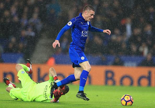 Leicester City v Manchester City - Premier League - King Power Stadium : News Photo