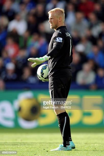 Leicester City's Kasper Schmeichel