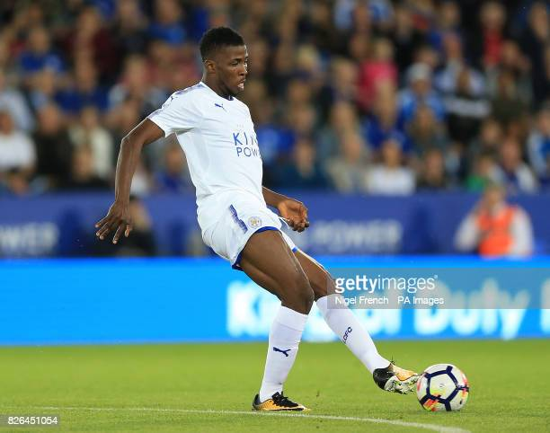Leicester City's Kelechi Iheanacho during a pre season friendly match at the King Power Stadium Leicester
