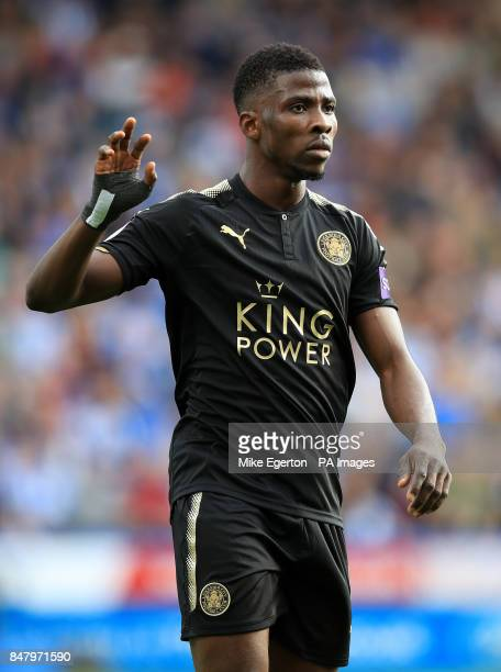 Leicester City's Kelechi Iheanacho during the Premier League match at the John Smith's Stadium Huddersfield PRESS ASSOCIATION Photo Picture date...