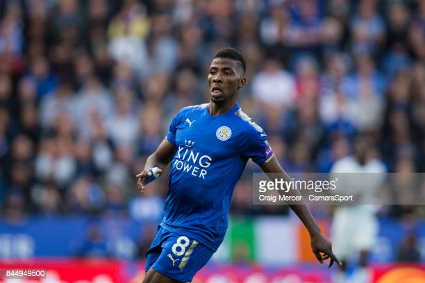 Leicester City's Kelechi Iheanacho during the Premier League match between Leicester City and Chelsea at The King Power Stadium on September 9 2017...