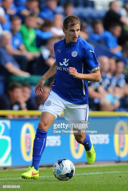Leicester City's Marc Albrighton during the PreSeason friendly at Deepdale Preston