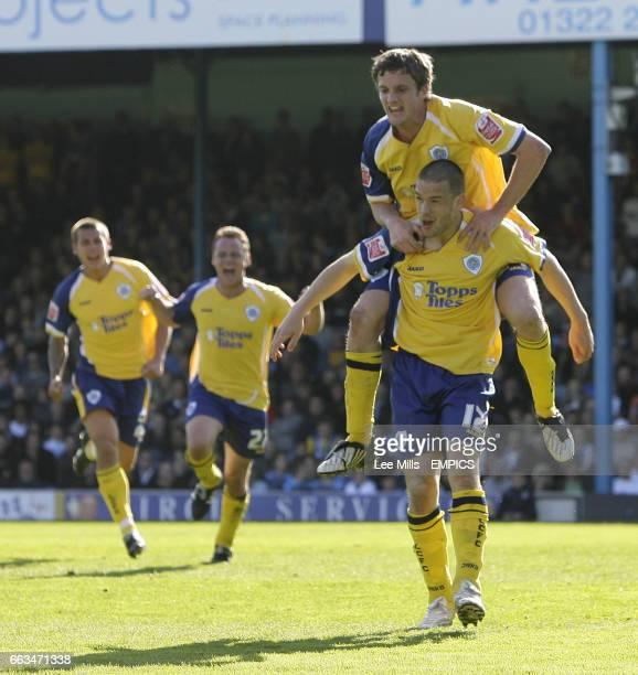 Leicester City's Matty Fryatt celebrates his 2nd goal