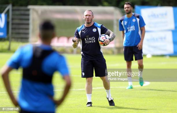 Leicester City's Michael Appleton during the Leicester City PreSeason tour of Austria at Velden Training Facility on July 11 2017 in Velden Austria