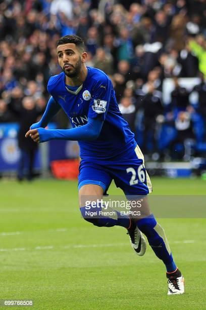 Leicester City's Riyad Mahrez