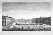 Leicester Square Westminster London 1753