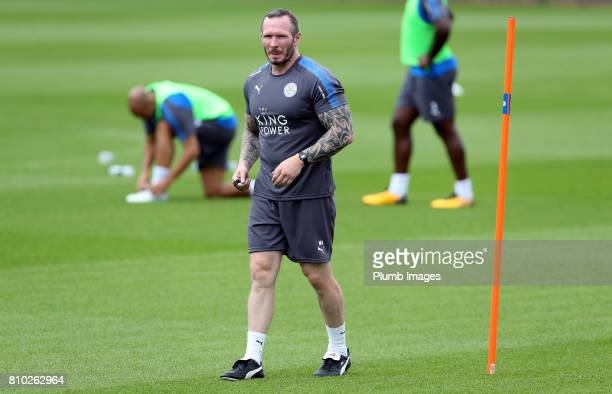 Leicester's assistant manager Michael Appleton during the Leicester City Training session at Belvoir Drive Training Complex on July 07 2017 in...