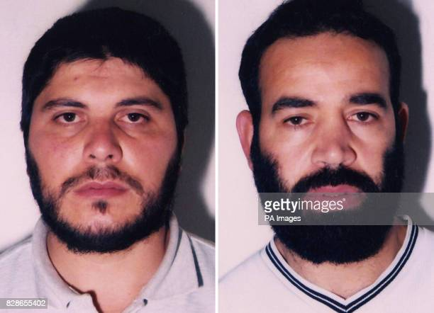 Leicestershire Police pictures of illegal immigrants Brahim Benmerzouga and Baghdad Meziane who were jailed for 11 years each after they were found...