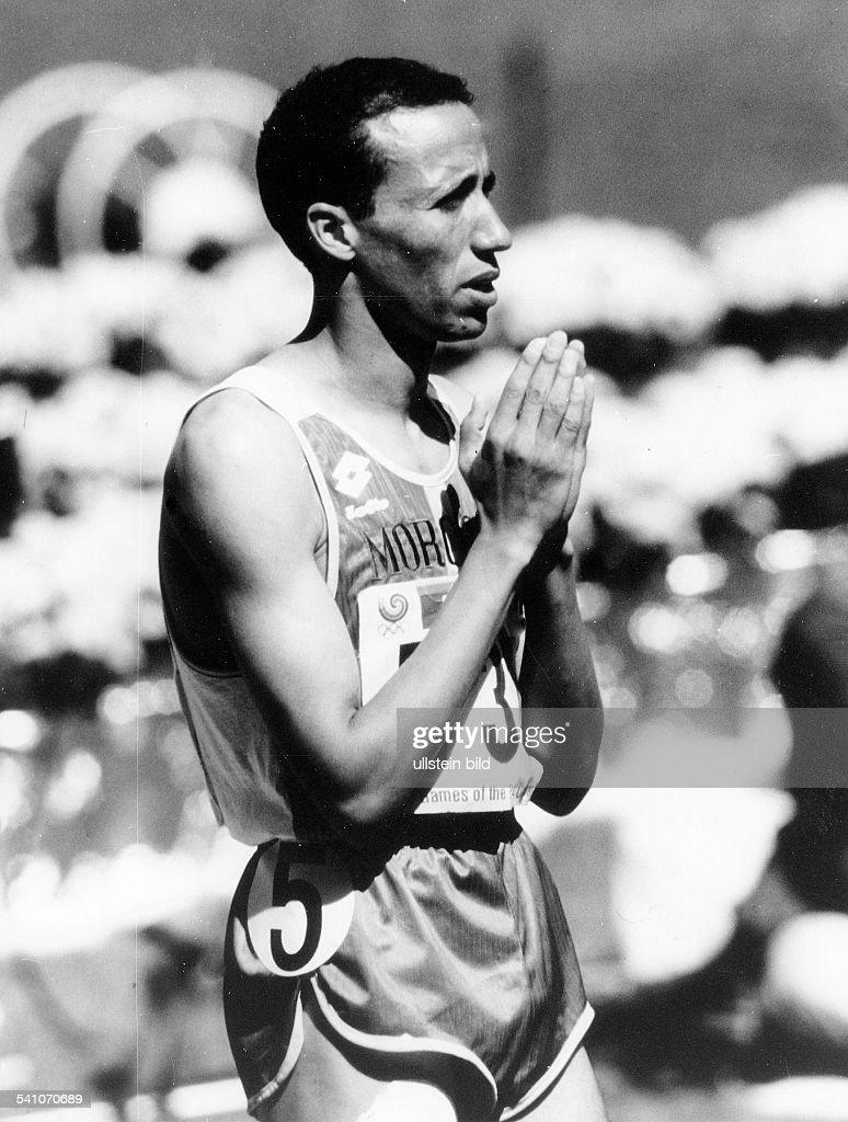 Leichtathlet Marokkoals Teilnehmer bei den OlympischenSpielen in Seoul