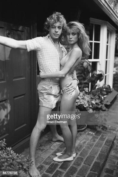LOS ANGELES JANUARY 01 1980 Leif Garrett and Nicolette Sheridan circa 1980 in Los Angeles California **EXCLUSIVE**