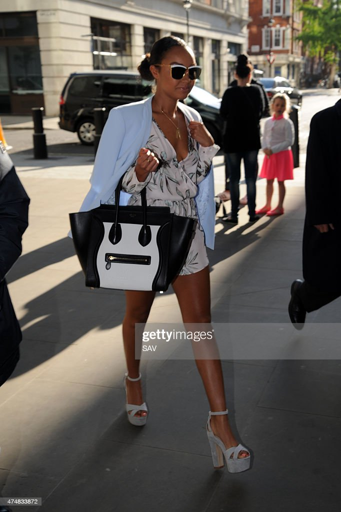 Leigh Anne Pinnock of Little Mix at BBC Radio 1 on May 27 2015 in London England