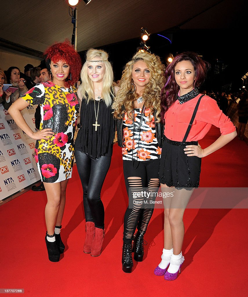 Leigh Anne Pinnock Perrie Edwards Jesy Nelson and Jade Thirlwall attend the National Television Awards 2012 at the O2 Arena on January 25 2012 in...