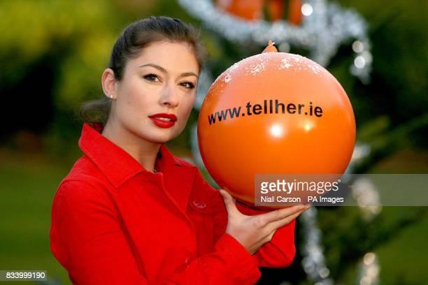 Leigh Arnold in St Stephens Green Dublin Ireland
