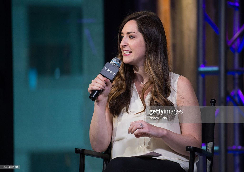 Leigh Blickley visits AOL Build at AOL Studios In New York on June 28, 2016 in New York City.