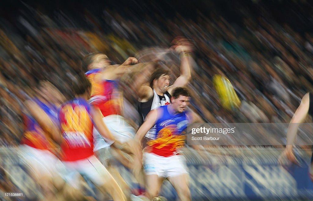 AFL Rd 22 - Collingwood v Brisbane