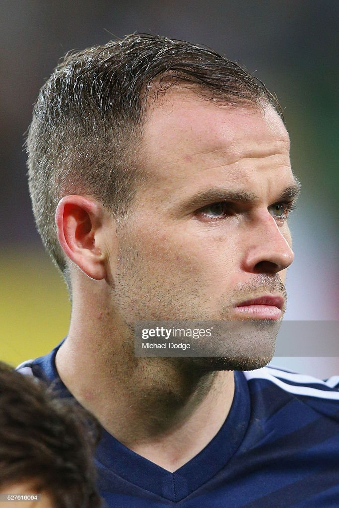 <a gi-track='captionPersonalityLinkClicked' href=/galleries/search?phrase=Leigh+Broxham&family=editorial&specificpeople=4103215 ng-click='$event.stopPropagation()'>Leigh Broxham</a> of the Victory looks on during the AFC Champions League match between Melbourne Victory and Gamba Osaka at AAMI Park on May 3, 2016 in Melbourne, Australia.