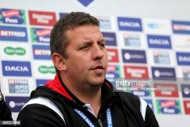Leigh Centurians head coach Neil Jukes during day two of the Betfred Super League Magic Weekend at St James' Park Newcastle
