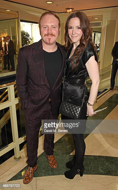 Leigh Francis aka Keith Lemon and Jill Carter attend the TRIC Television and Radio Industries Club Awards at The Grosvenor House Hotel on March 10...