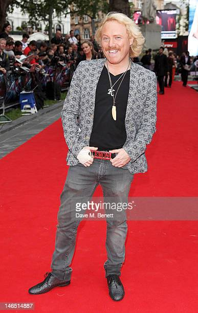 Leigh Francis aka Keith Lemon arrives at the UK Premiere of 'The Amazing SpiderMan' at Odeon Leicester Square on June 18 2012 in London England