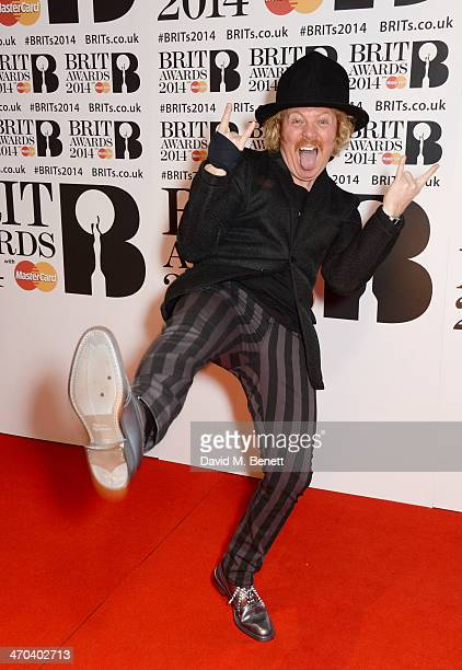 Leigh Francis aka Keith Lemon attend The BRIT Awards 2014 at the 02 Arena on February 19 2014 in London England