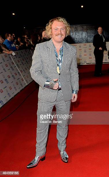 Leigh Francis aka Keith Lemon attend the National Television Awards at the 02 Arena on January 22 2014 in London England