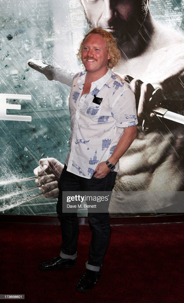 <a gi-track='captionPersonalityLinkClicked' href=/galleries/search?phrase=Leigh+Francis&family=editorial&specificpeople=211146 ng-click='$event.stopPropagation()'>Leigh Francis</a> aka Keith Lemon attends the UK Premiere of 'The Wolverine' at Empire Leicester Square on July 16, 2013 in London, England.