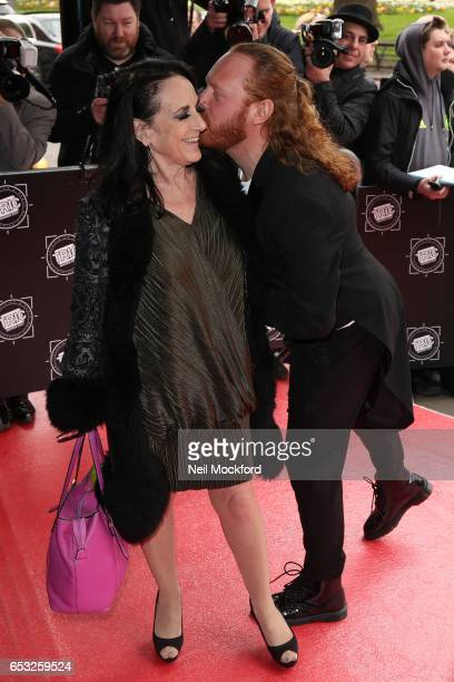 Leigh Francis and Lesley Joseph attends the TRIC Awards 2017 on March 14 2017 in London United Kingdom