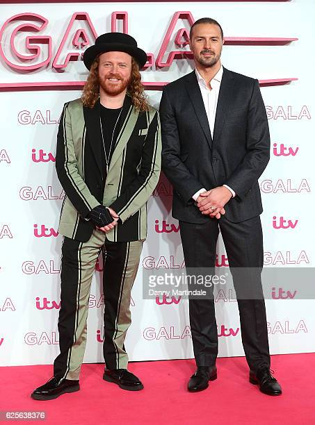 Leigh Francis and Paddy McGuiness attends the ITV Gala at London Palladium on November 24 2016 in London England