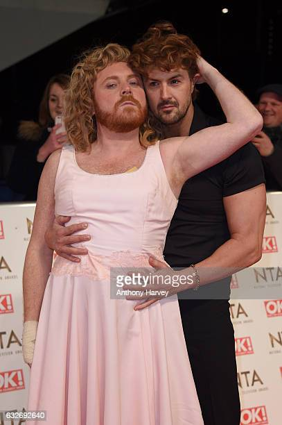 Leigh Francis and Paddy McGuinness attend the National Television Awards on January 25 2017 in London United Kingdom