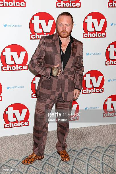 Leigh Francis arrives for the TVChoice Awards at The Dorchester on September 5 2016 in London England