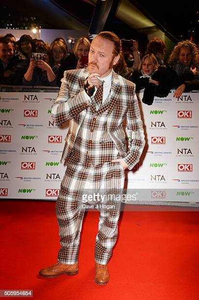 Leigh Francis attends the 21st National Television Awards at The O2 Arena on January 20 2016 in London England