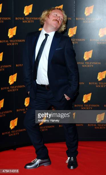 Leigh Francis attends the RTS programme awards at Grosvenor House on March 18 2014 in London England