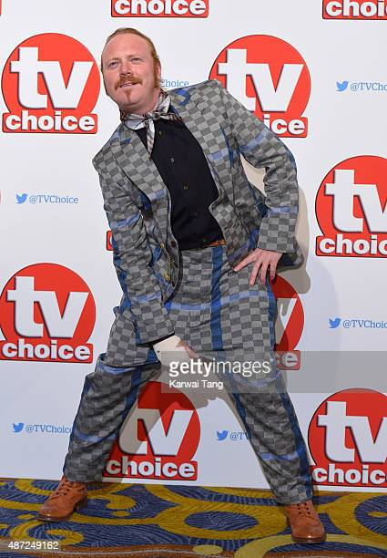Leigh Francis attends the TV Choice Awards 2015 at Hilton Park Lane on September 7 2015 in London England